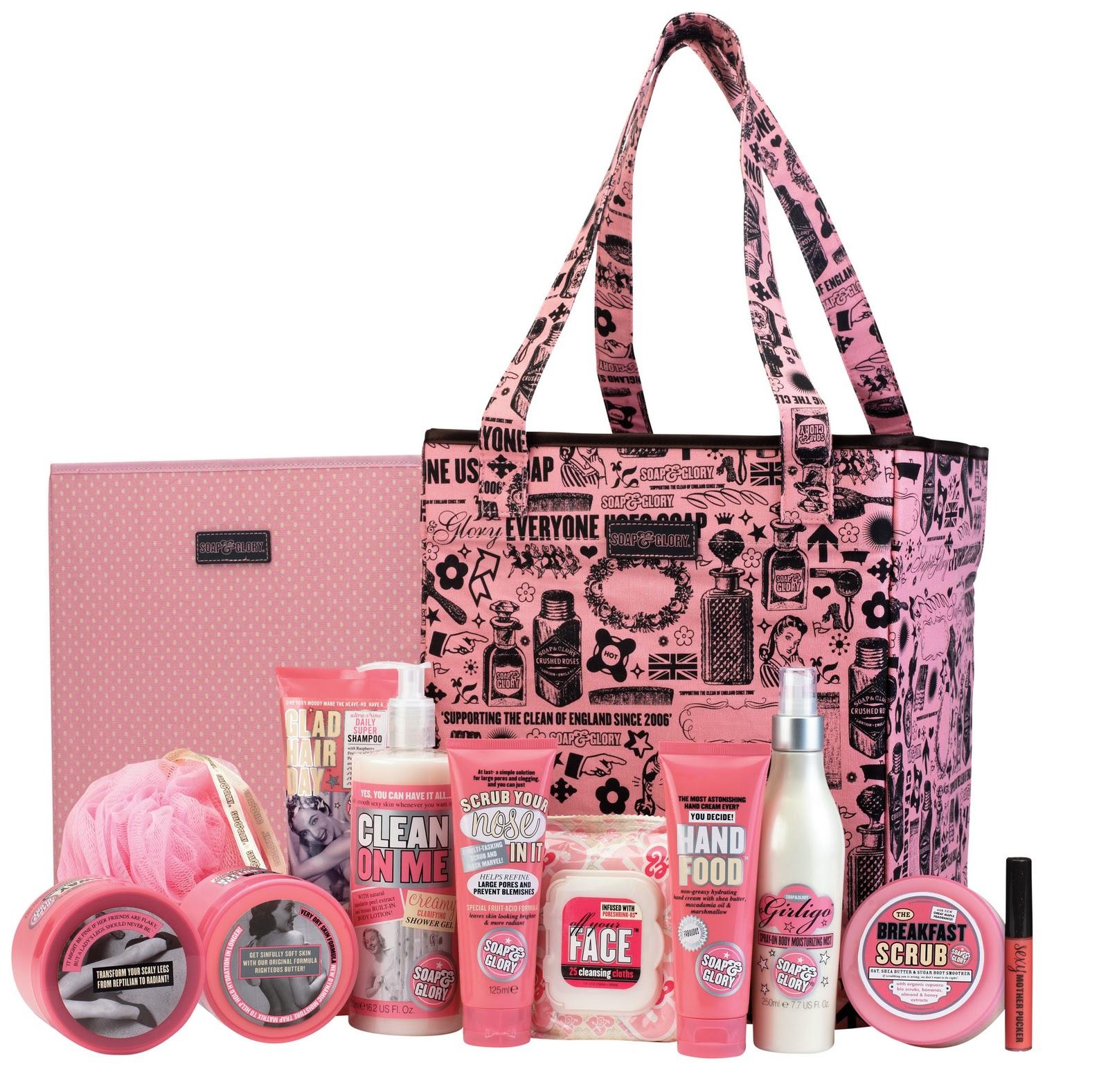 Soap & Glory Pink Big Tote Bag (Boots)