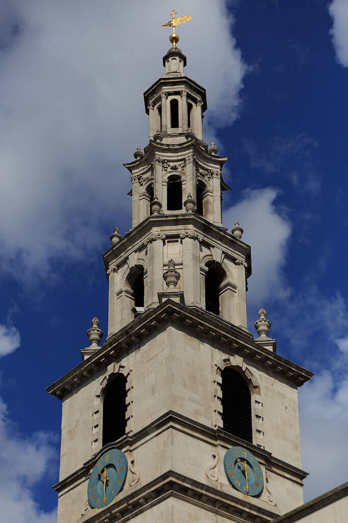The Church of St Clement Danes