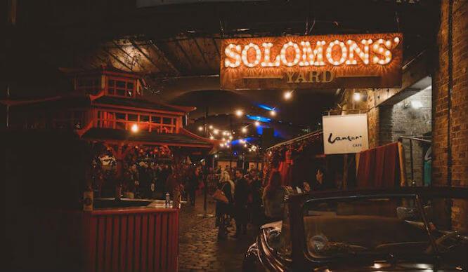 Solomons Yard London Bar