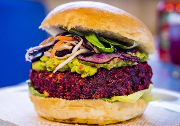 beetroot-burger-bird-veggie-vegetarian-food-london