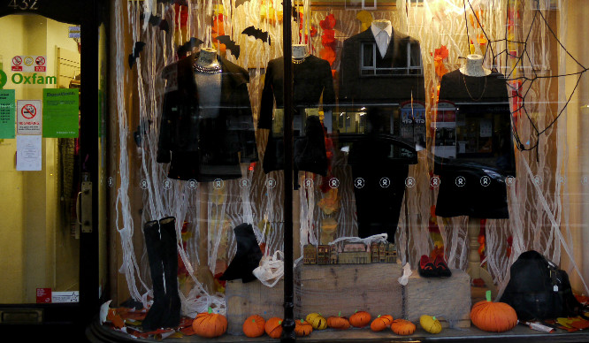 Halloween Shop Displays.Oxfam Are Setting Up A Charity Halloween Shop In Shoreditch Secret