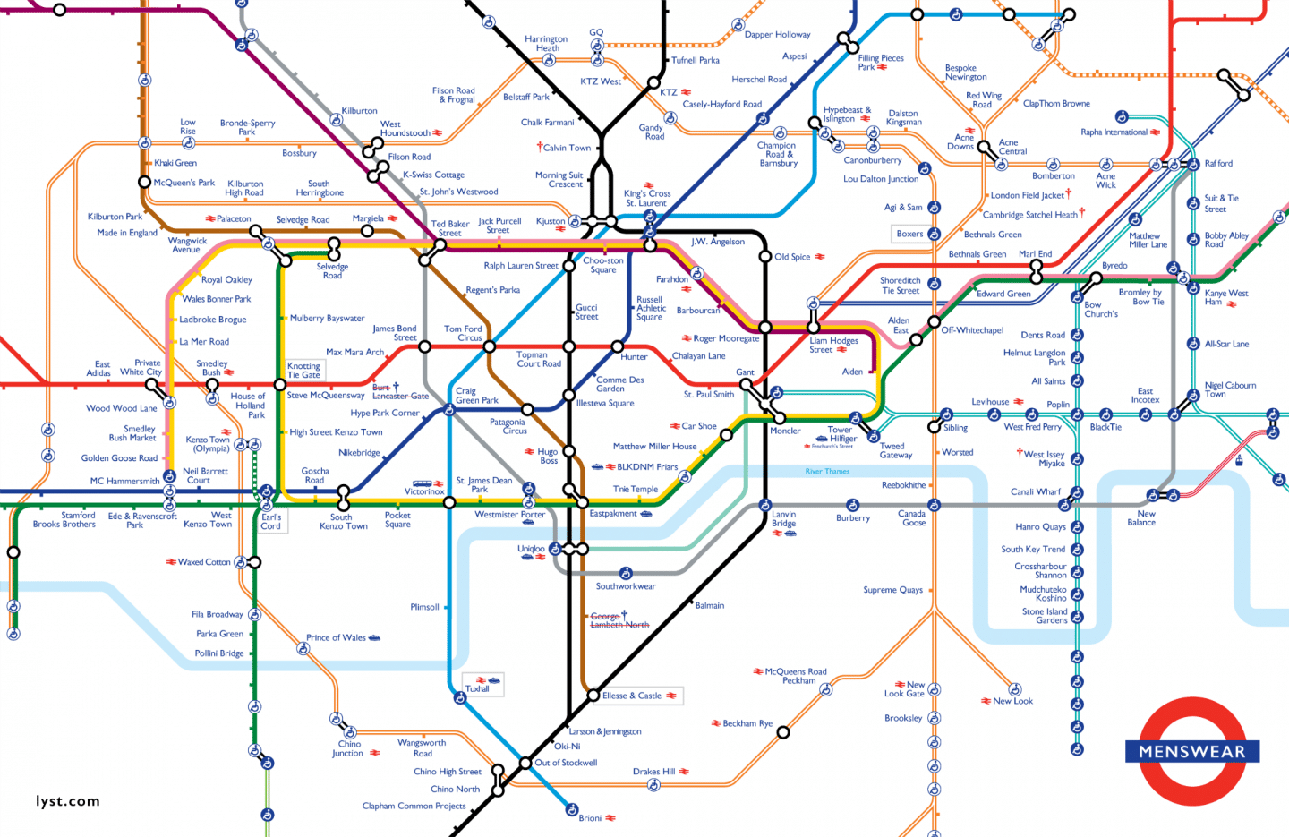 Map Of London With Underground.The London Underground Map Has Been Given A Very Dapper Makeover