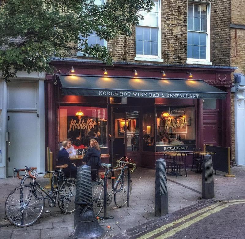 London Wine Bars - Noble Rot