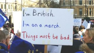 brexit march