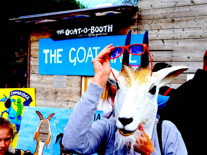 Goat Race London