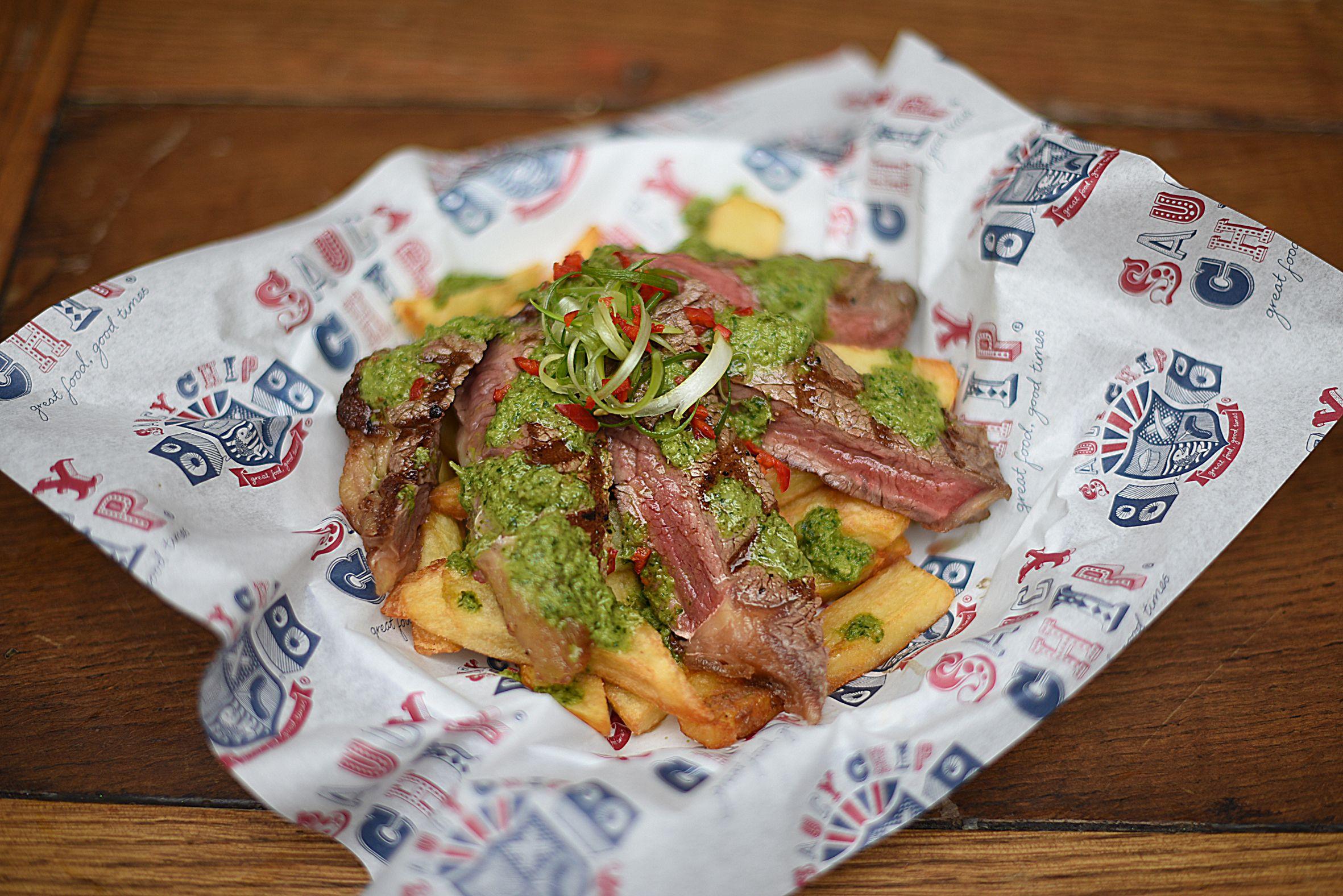 saucy chip london