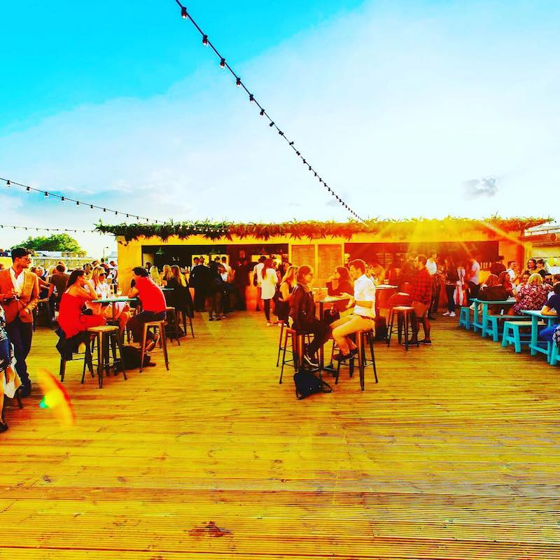 Rooftop Bar Pergola London