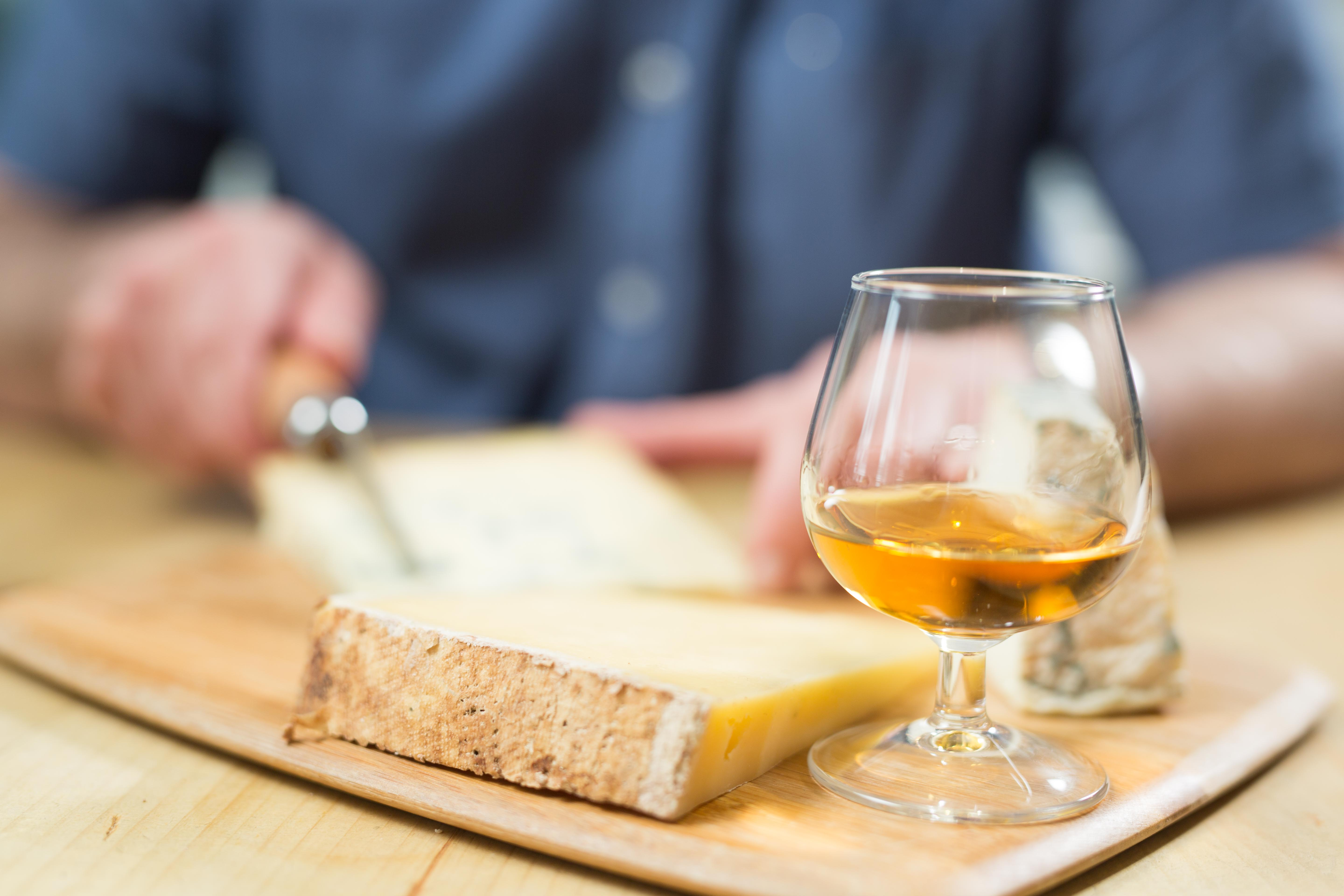 SMWS cheese and whisky