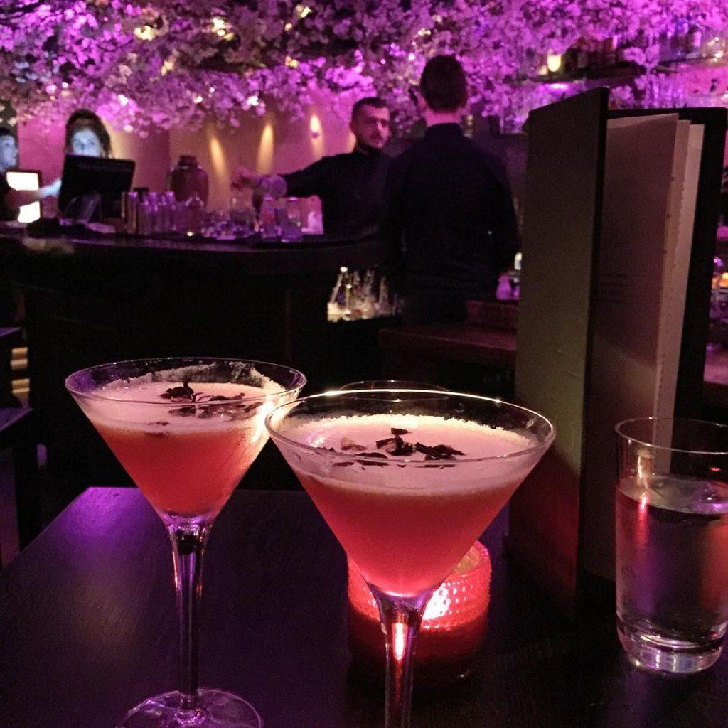 Shochu Lounge Cocktails