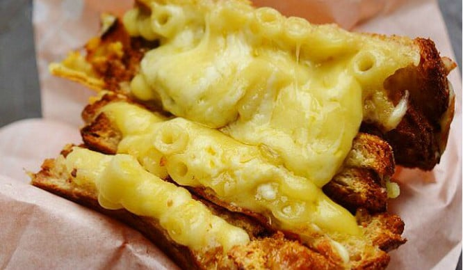 mac and cheese toastie london
