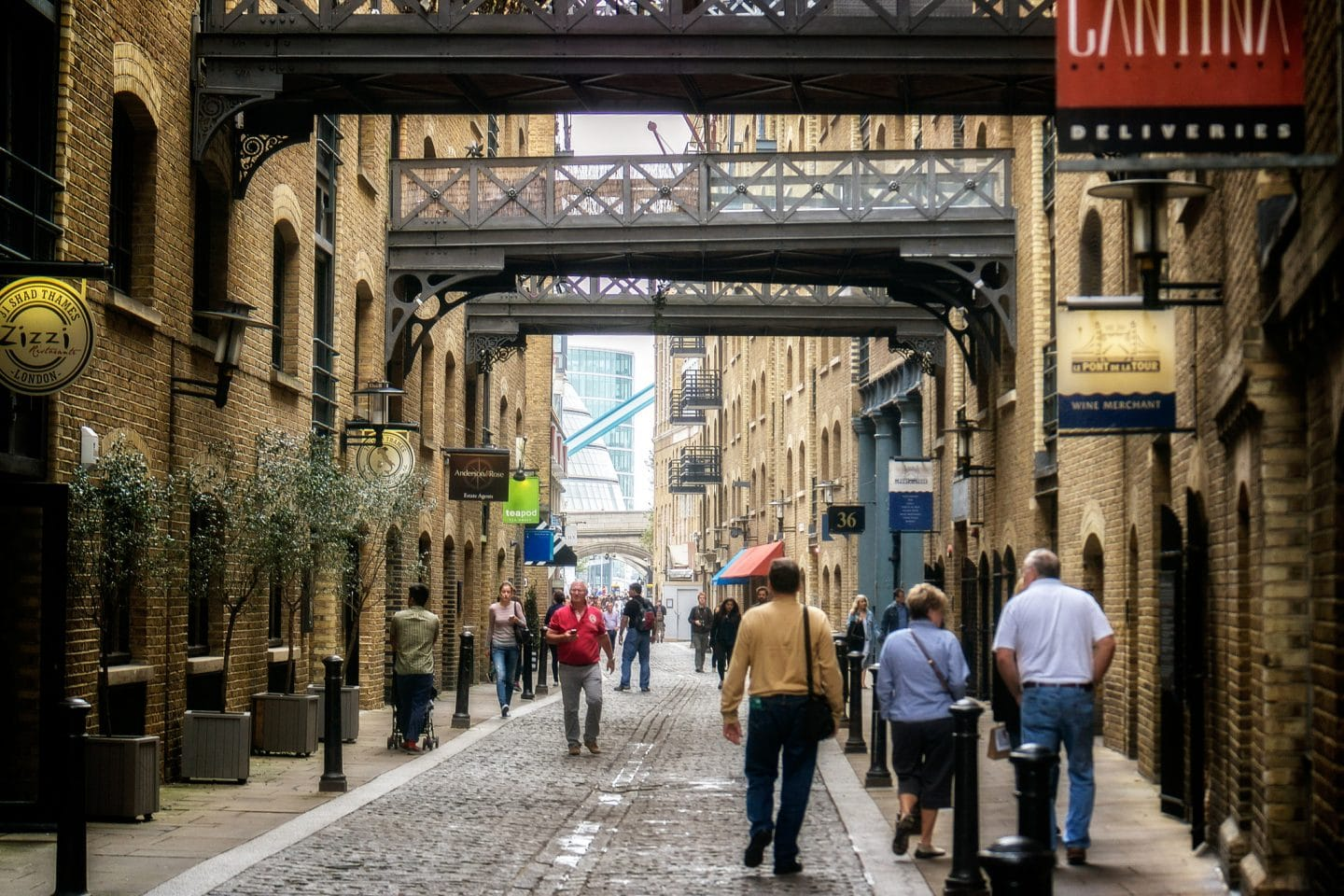 Shad Thames, London. Photo: Garry Knight