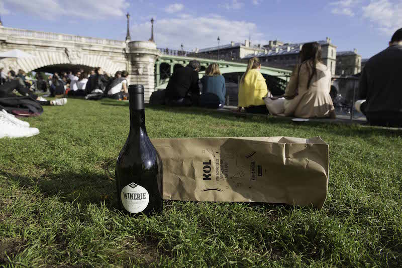 Wine in the park