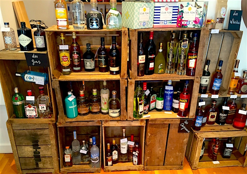Spirits and alcohol drinks delivered in London.
