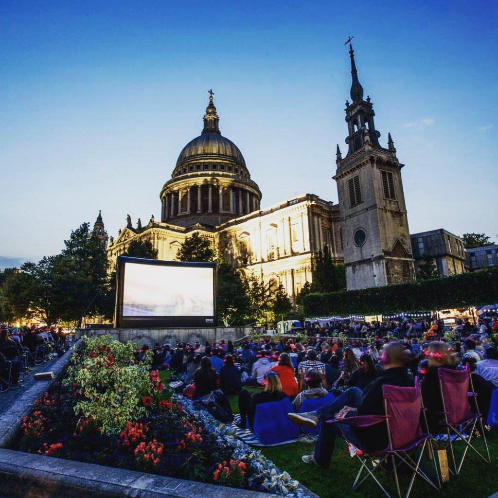 Outdoor cinemas