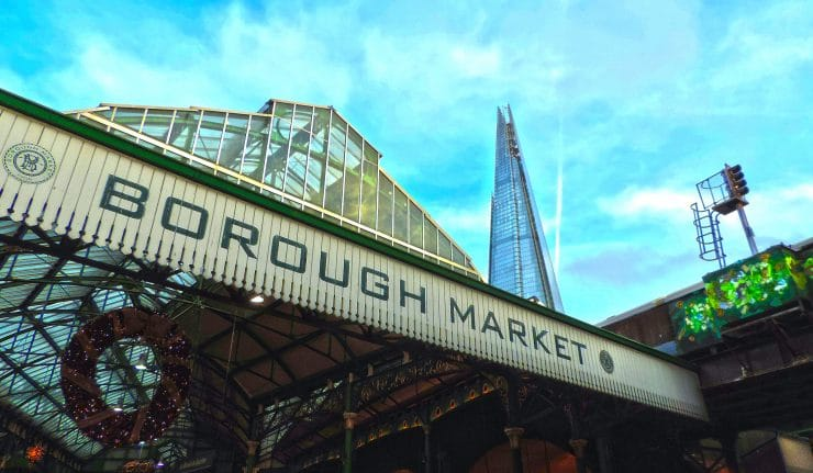 Borough Market open Wednesday