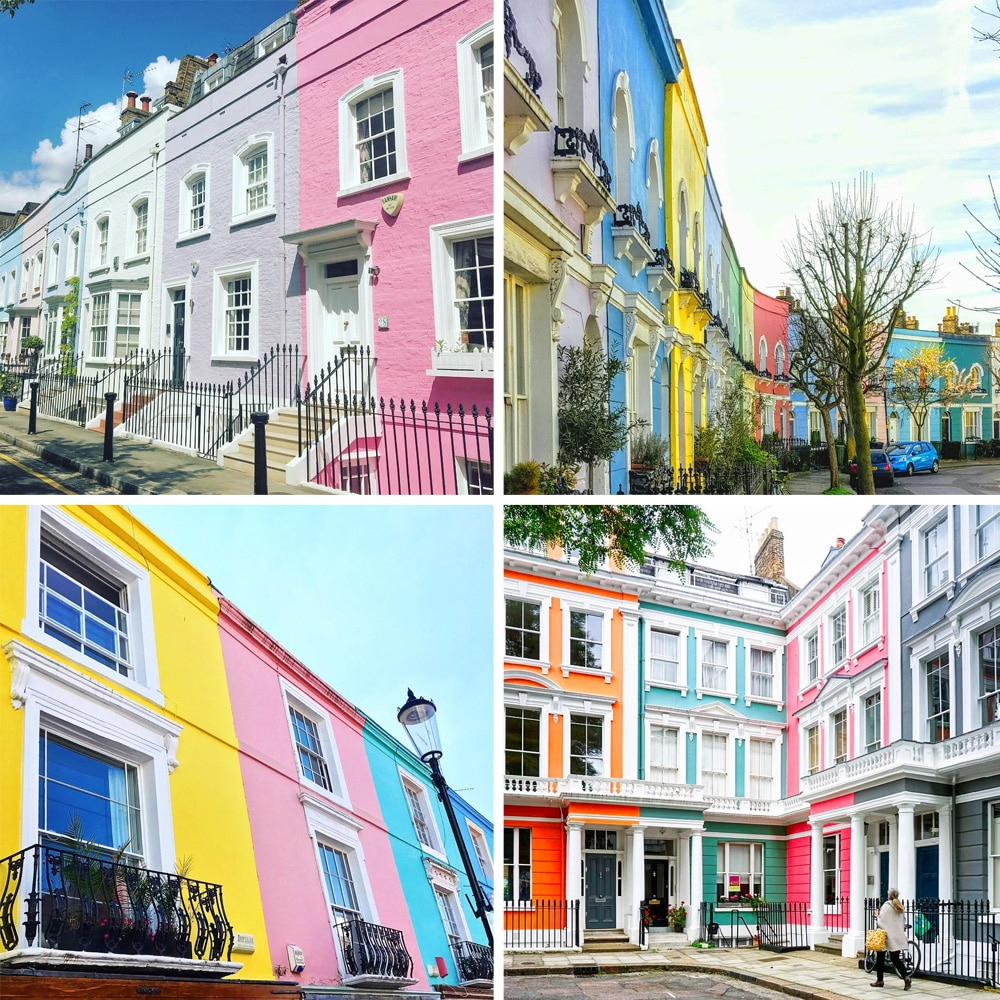 Colourful London Streets