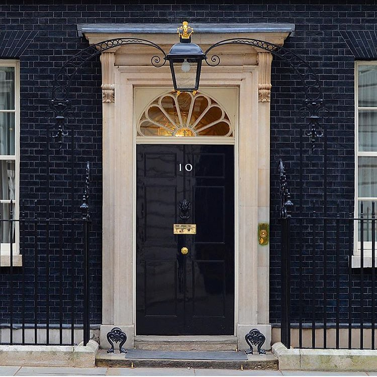 Fake Number 10 Downing Street Londoin