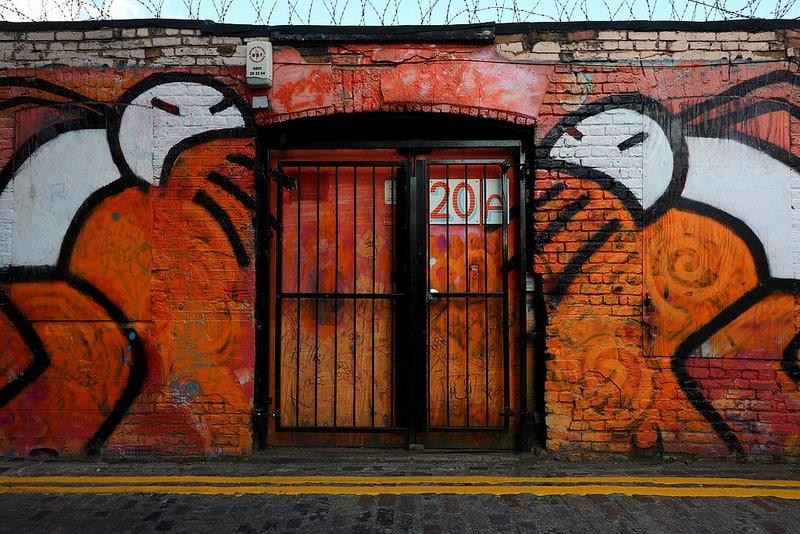 Stik Grimsby Street Brick Lane London