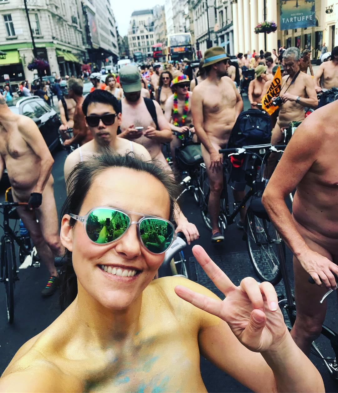 World Naked Bike Ride London