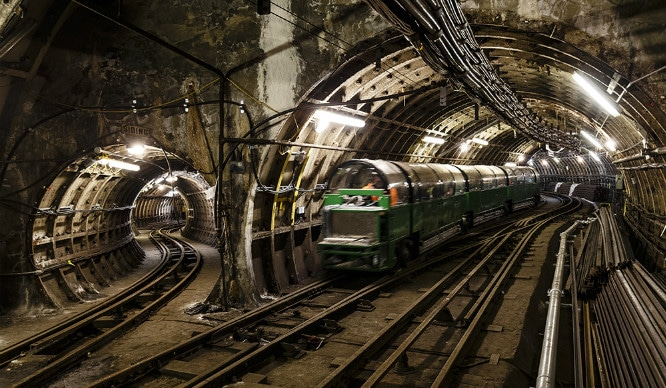 Take A Ride On An Abandoned Underground Train Track - Secret London
