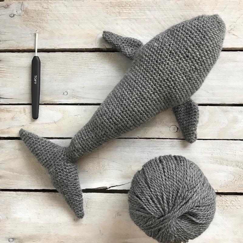 Crochet Whale