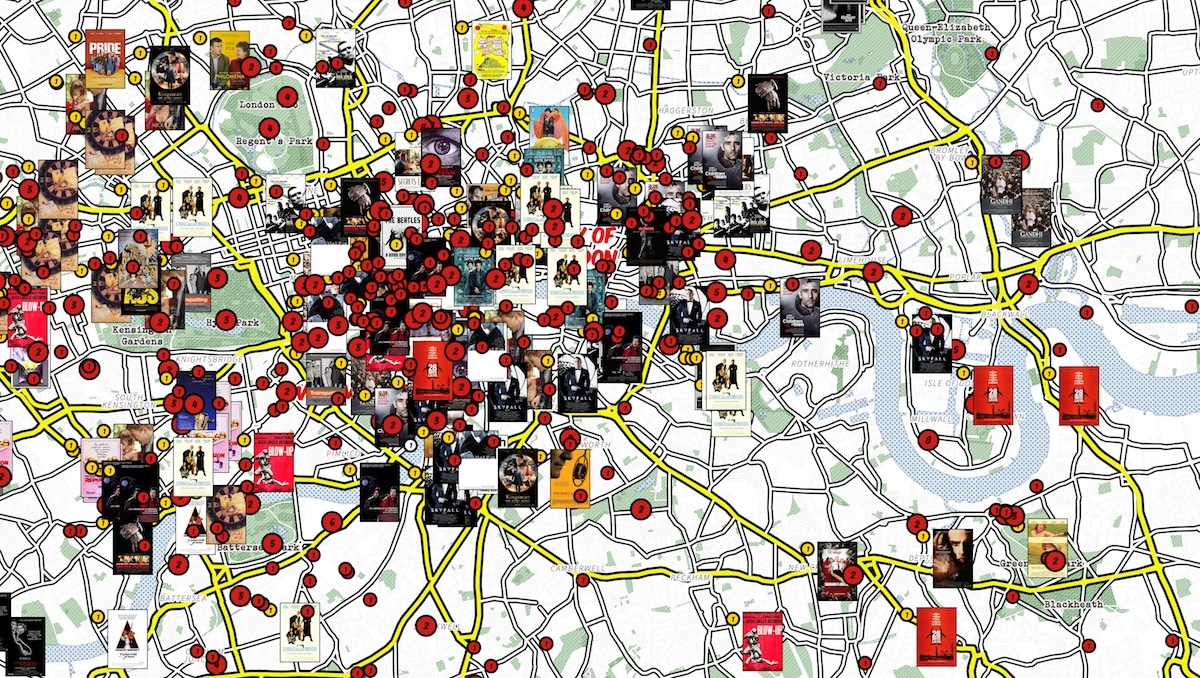 Interactive Map Of London.Check Out This Interactive Map Of London Film Locations