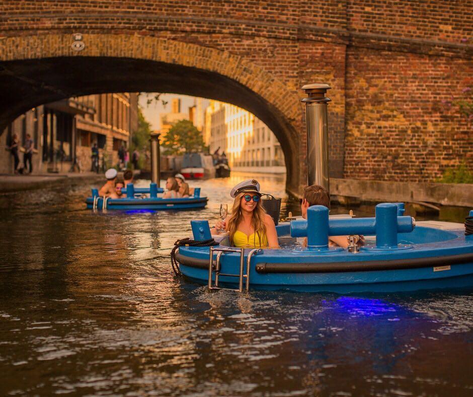 Hot Tub Boats London - Hot Tug UK
