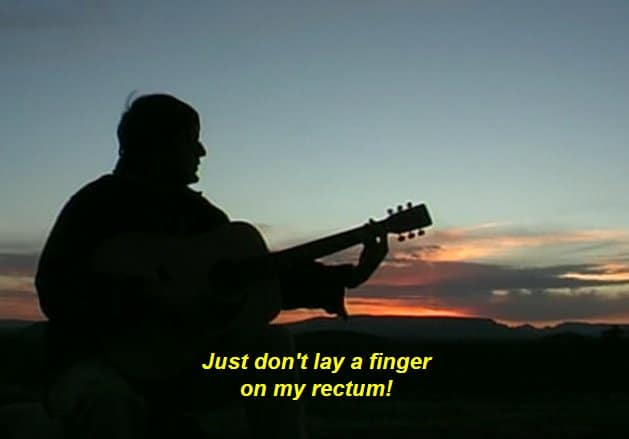 Just Don't Lay A Finger On My Rectum