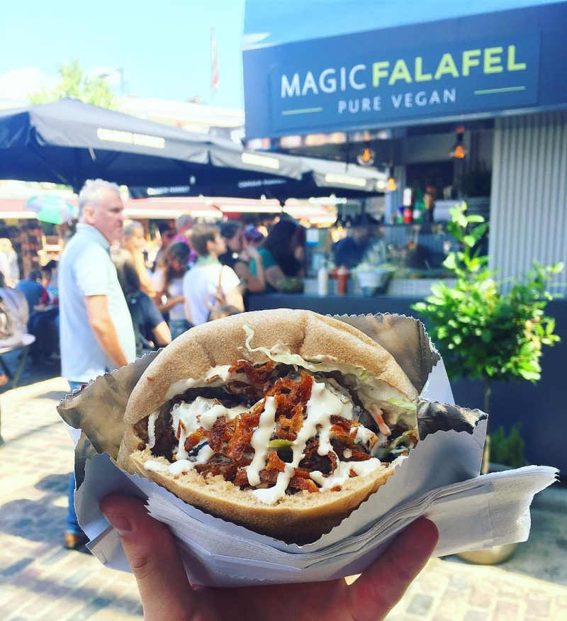 Image result for magic falafel menu