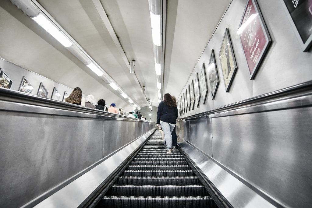 tube-escalator