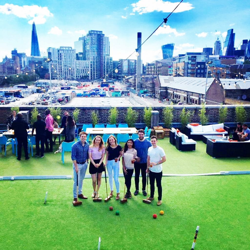 Croquet at Skylight London