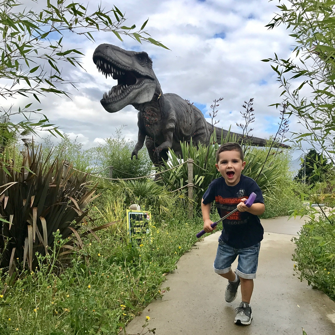 Dinosaur Crazy Golf, Ruislip London