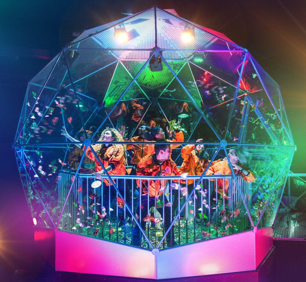 Crystal maze dome London