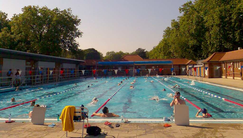 Image result for london fields lido