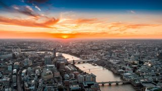 Sunset-shard-london-corona-pop-up