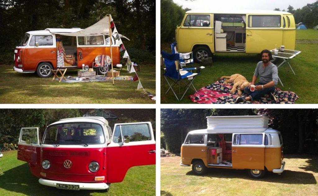 Vintage Camper Van Hire London