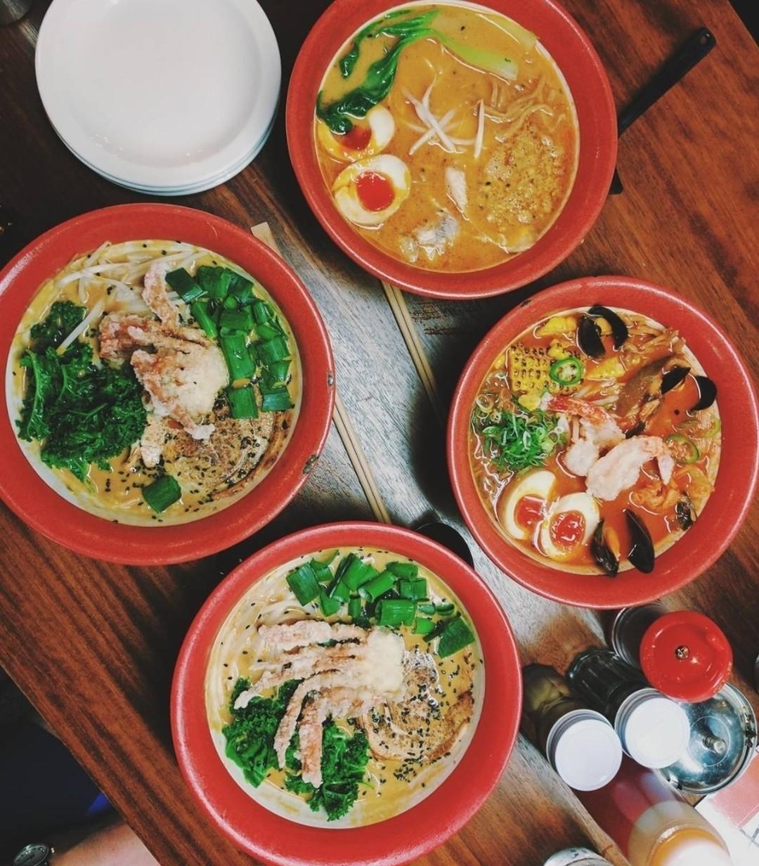 Japanese cuisine in London: Bone Daddies ramen