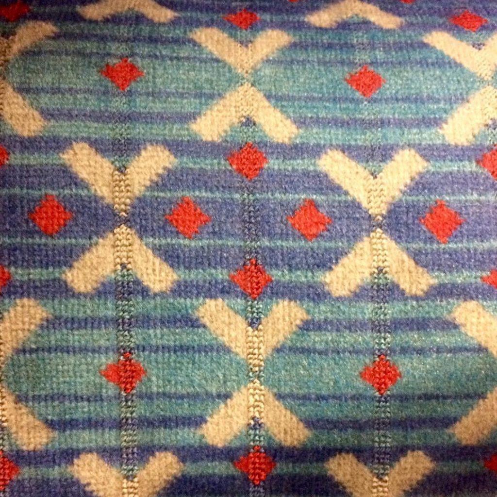 Victoria Line moquette
