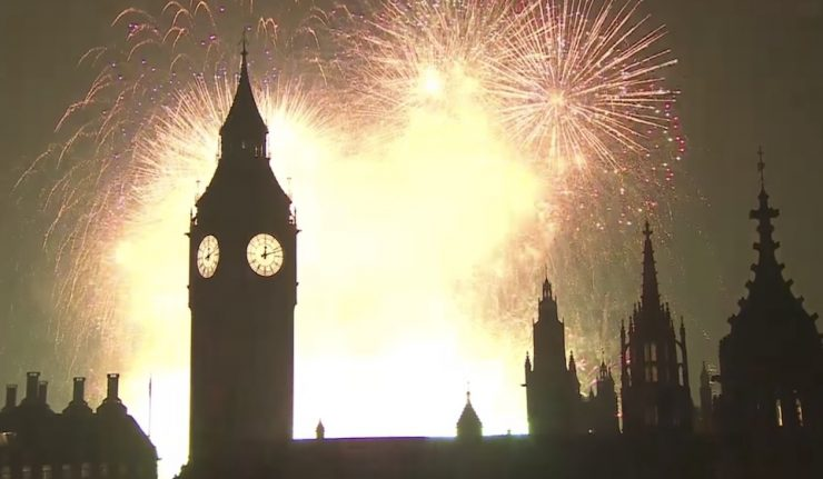 London New Year's Eve Fireworks Tickets
