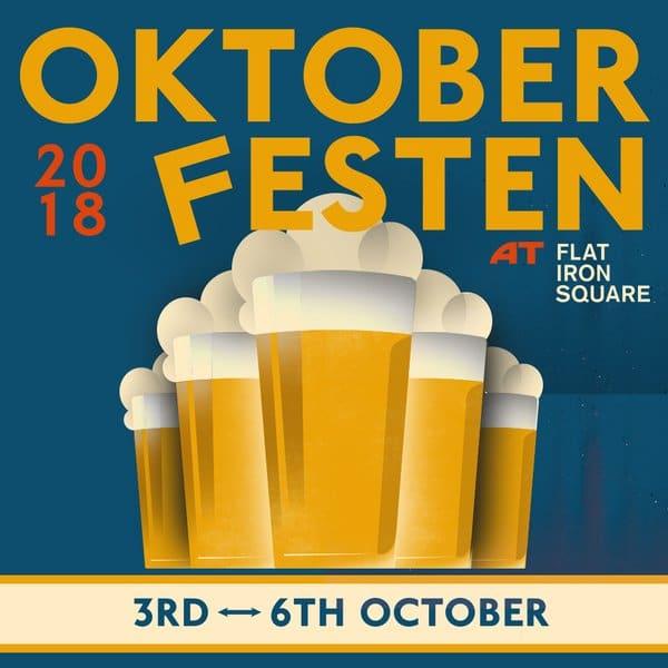 Oktoberfest London Flat Iron Square