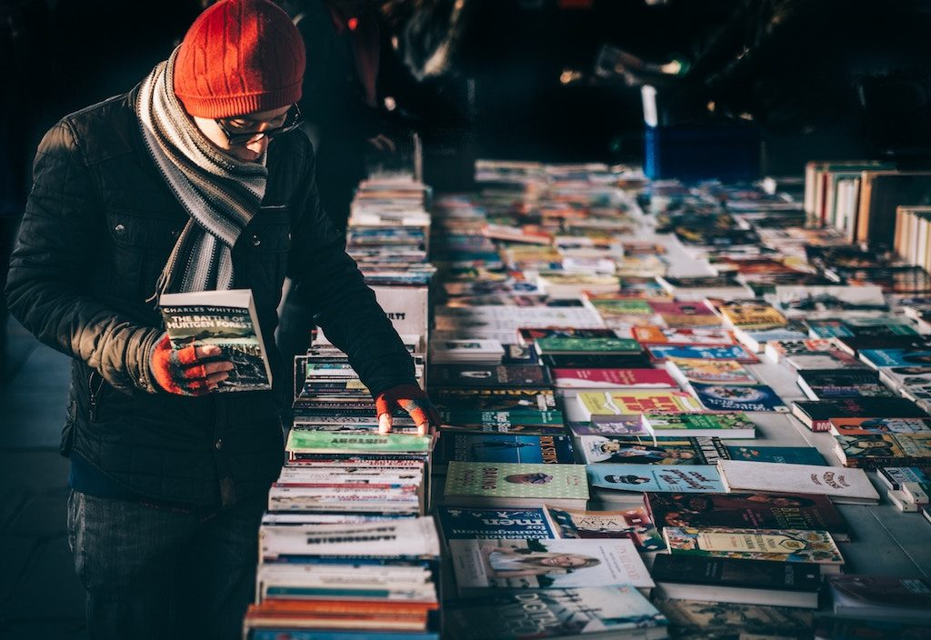 Waterloo Bridge Book Stalls