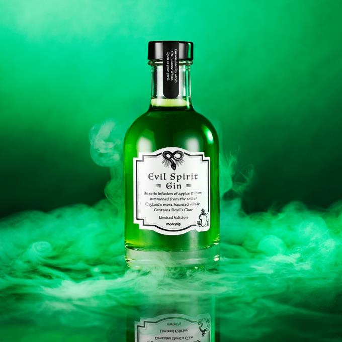 Evil Spirit Gin Cursed By Witch