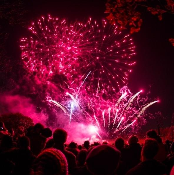 Fireworks displays