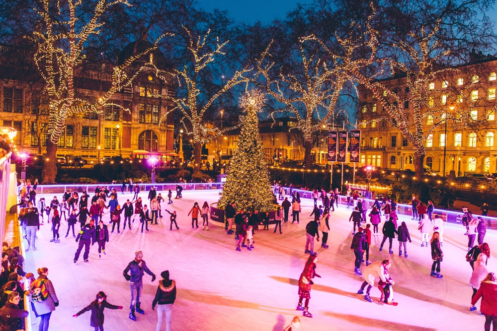 Christmas Ice Skating London.Ice Rinks In London The Most Magical Ice Rinks To Skate On