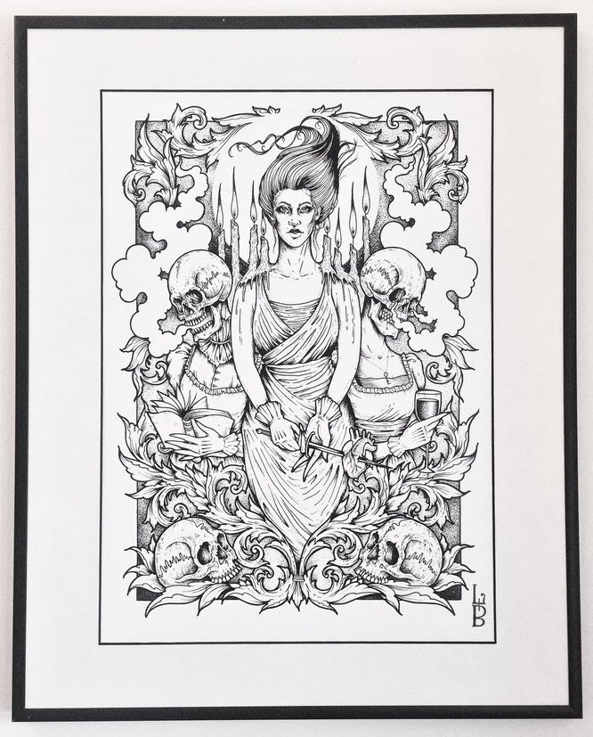Lozzy Bones Illustrator London