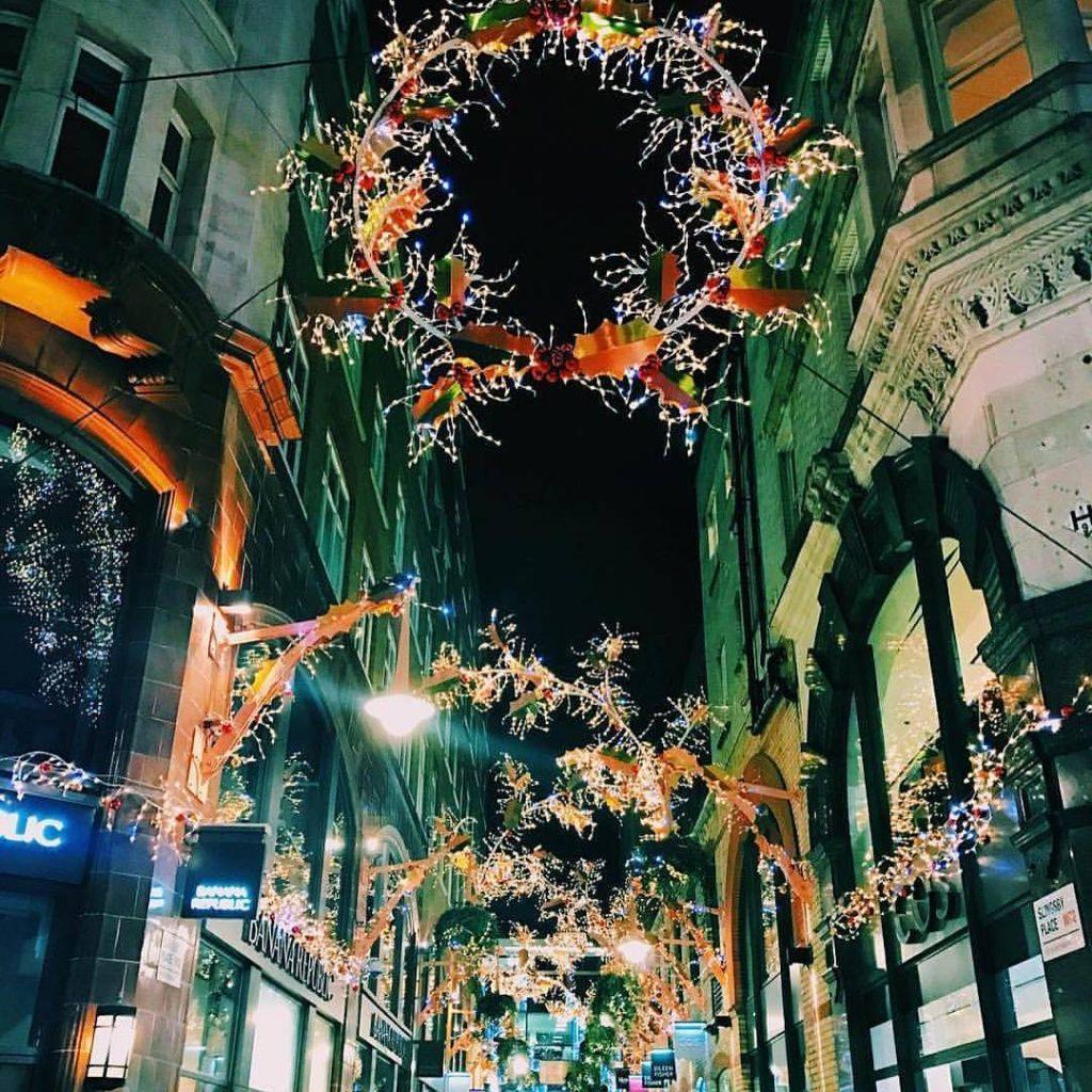 St Martins Courtyard Christmas Lights