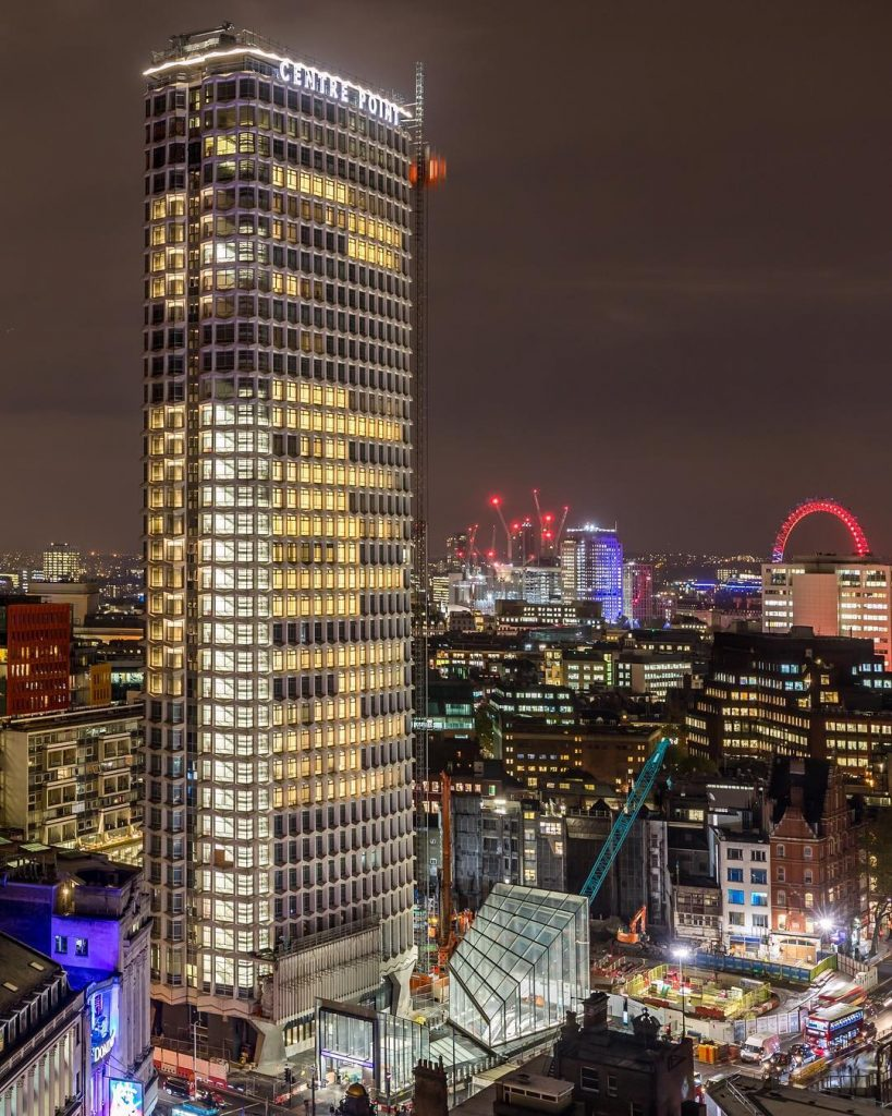 London from the rooftops