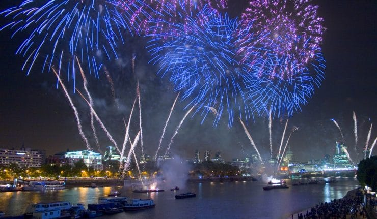 Lord Mayor's Show Fireworks