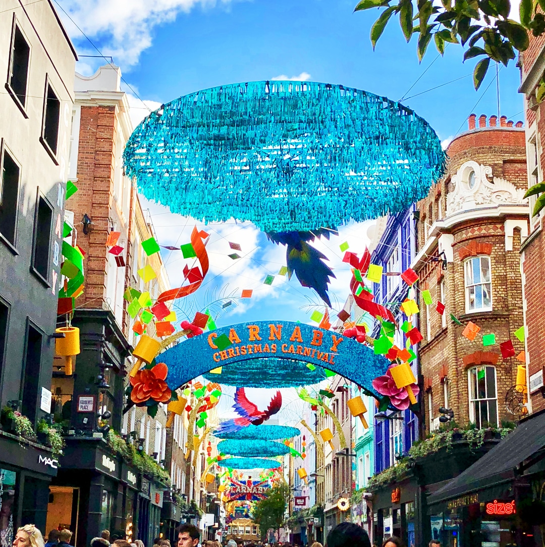 carnaby christmas carnival london