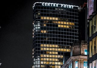 Centre Point Letters Lights